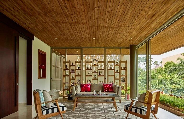 Desain Interior Kembang Murni House